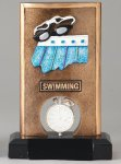 Resin Spinner Swimming Swimming Trophy Awards