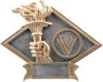 Diamond Plate Resin -Victory Victory Trophy Awards